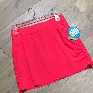 Columbia Skort Active Fit coral color